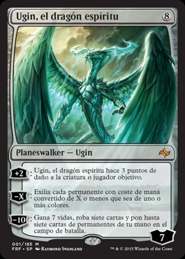 Ugin, el dragón espíritu / Ugin, the Spirit Dragon