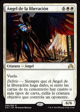 Ángel de la liberación / Angel of Deliverance