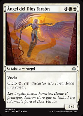 Ángel del Dios Faraón / Angel of the God-Pharaoh
