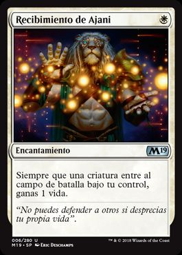 Recibimiento de Ajani / Ajani's Welcome