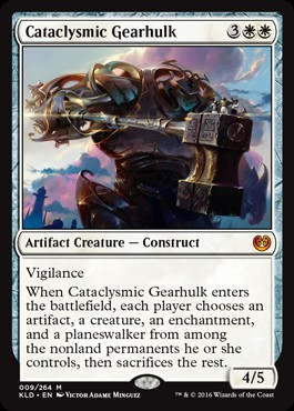 Mecatitán cataclísmico / Cataclysmic Gearhulk