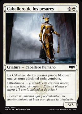 Caballero de los pesares / Knight of Sorrows