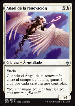 Ángel de la renovación / Angel of Renewal