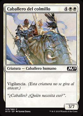 Caballero del colmillo / Knight of the Tusk