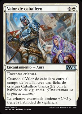 Valor de caballero / Knightly Valor