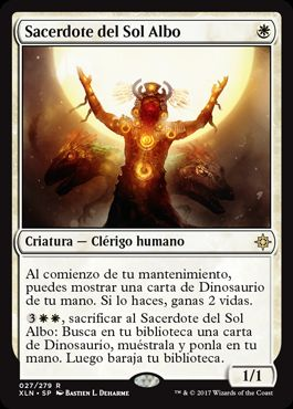 Sacerdote del Sol Albo / Priest of the Wakening Sun