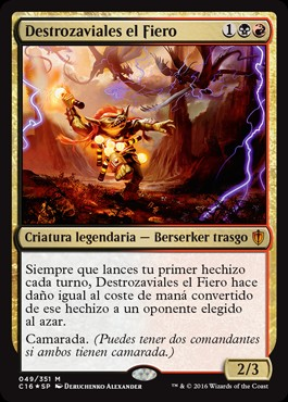 Destrozaviales el Fiero / Vial Smasher the Fierce
