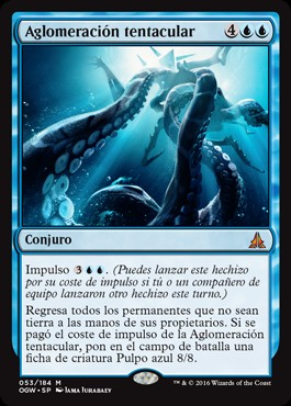 Aglomeración tentacular / Crush of Tentacles