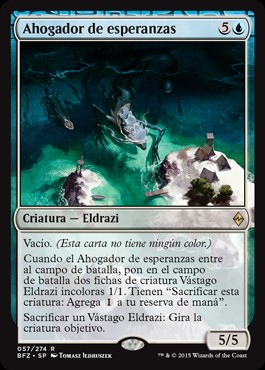 Ahogador de esperanzas / Drowner of Hope