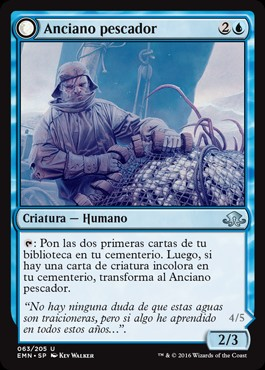 Anciano pescador / Grizzled Angler