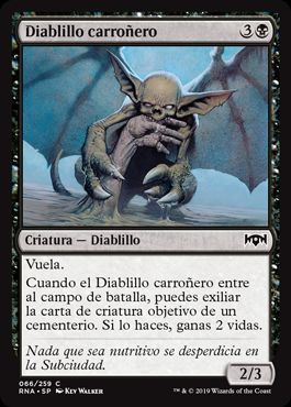Diablillo carroñero / Carrion Imp