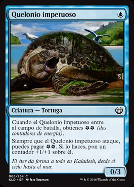 Quelonio impetuoso / Thriving Turtle