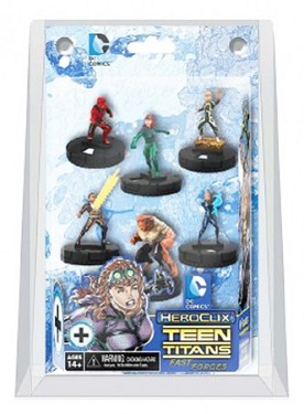 DC Heroclix - Teen Titans The Ravagers Fast Forces 6-pack