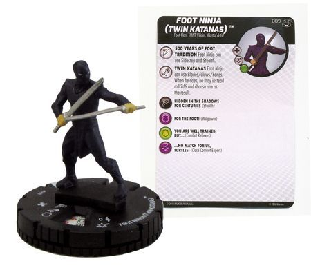 009 - Foot Ninja (Twin Katanas)
