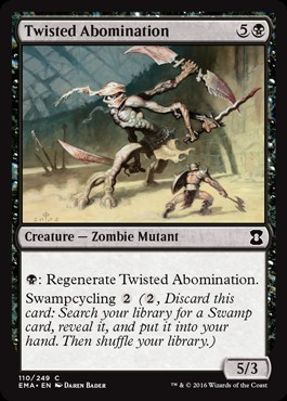 Abominación torcida / Twisted Abomination