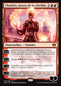 Chandra, aurora de la rebeldía / Chandra, Torch of Defiance