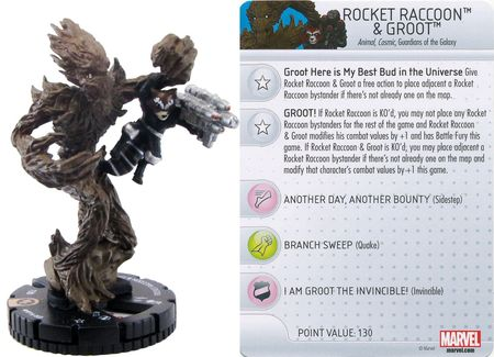 MP16-003 - Rocket Raccoon & Groot