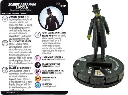 008 - Zombie Abraham Lincoln