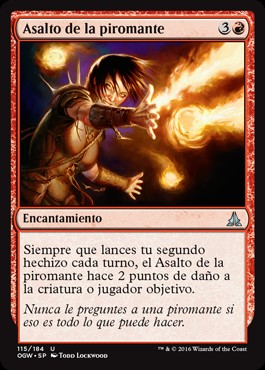 Asalto de la piromante / Pyromancer's Assault