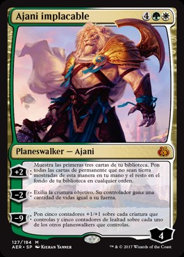 Ajani implacable / Ajani Unyielding