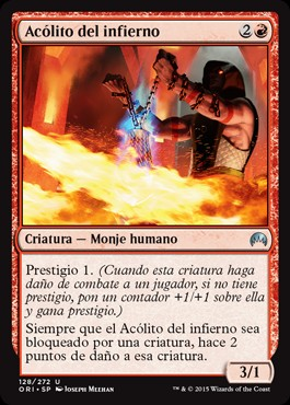 Acólito del infierno / Acolyte of the Inferno