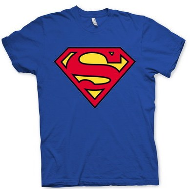 Superman: Camiseta Logo Superman (Talla L)