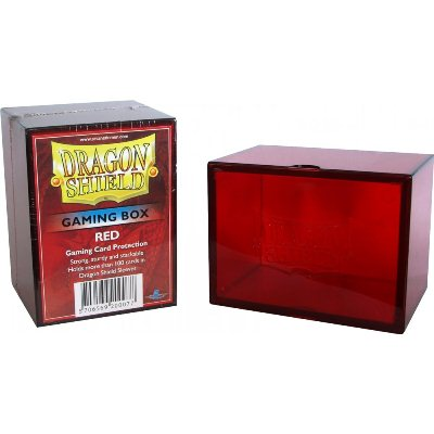 Dragon Shield - Deck Box Acrilico Rojo 100+
