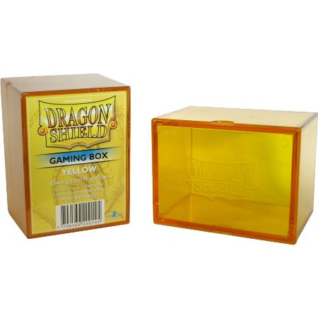 Dragon Shield - Acrylic Deck Box Yellow 100+