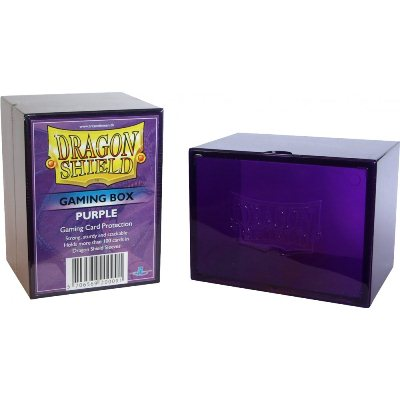 Dragon Shield - Deck Box Acrilico Violeta 100+