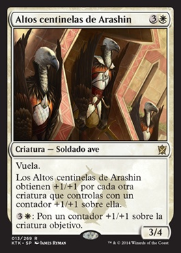 Altos centinelas de Arashin / High Sentinels of Arashin
