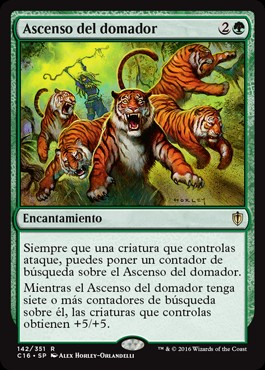 Ascenso del domador / Beastmaster Ascension