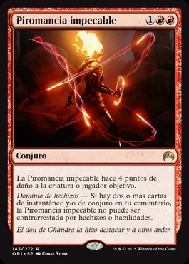 Piromancia impecable / Exquisite Firecraft