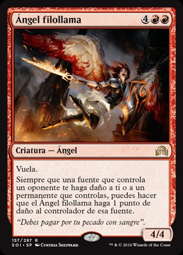 Ángel filollama / Flameblade Angel
