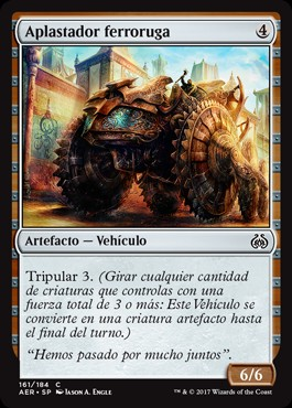 Aplastador ferroruga / Irontread Crusher