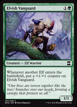 Vanguardia élfica / Elvish Vanguard