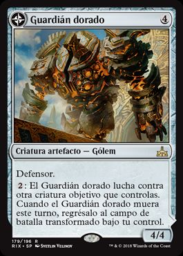 Guardián dorado / Golden Guardian