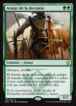 Avatar de la decisión / Avatar of the Resolute