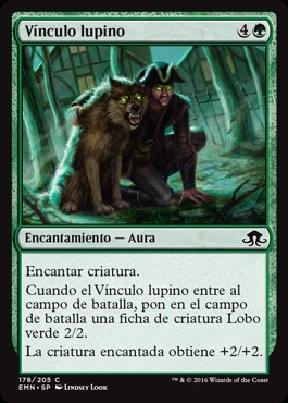 Vínculo lupino / Wolfkin Bond