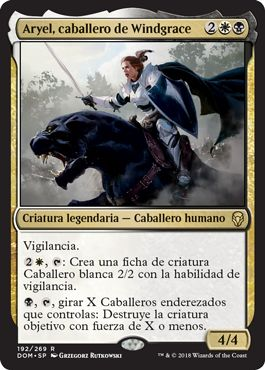 Aryel, caballero de Windgrace / Aryel, Knight of Windgrace