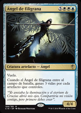 Ángel de filigrana / Filigree Angel