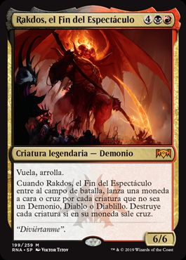Rakdos, el Fin del Espectáculo / Rakdos, the Showstopper