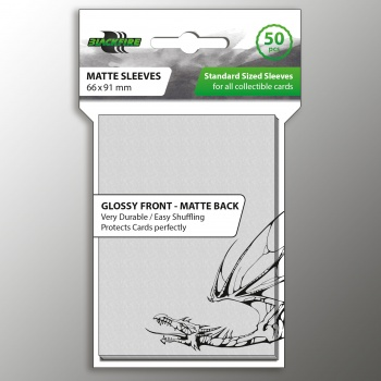 Blackfire - Standard Sleeves - Matte Clear 66x91 (50 Uds.)