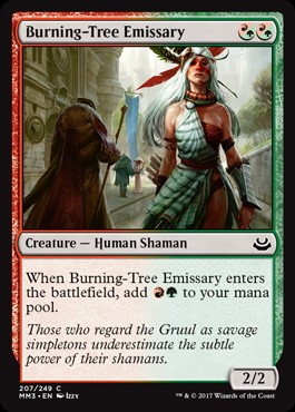 Emisaria Arbol Ardiente / Burning-Tree Emissary