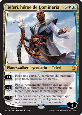 Teferi, héroe de Dominaria / Teferi, Hero of Dominaria