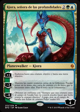 Kiora, señora de las profundidades / Kiora, Master of the Depths