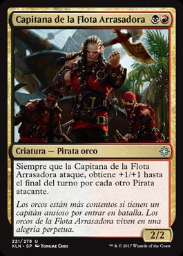 Capitana de la Flota Arrasadora / Dire Fleet Captain