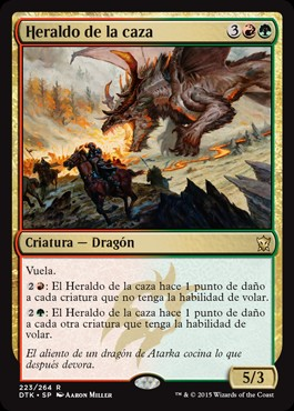 Heraldo de la caza / Harbinger of the Hunt