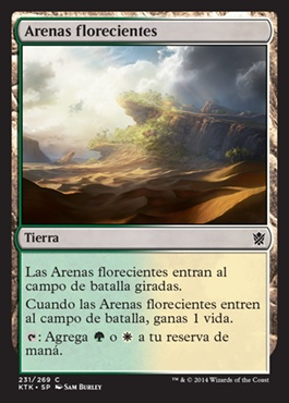 Arenas florecientes / Blossoming Sands