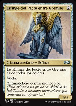Esfinge del Pacto entre Gremios / Sphinx of the Guildpact