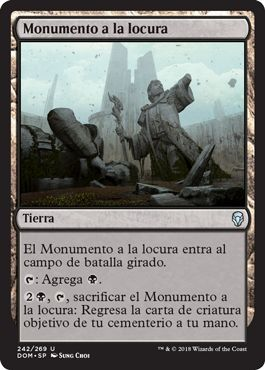 Monumento a la locura / Memorial to Folly
